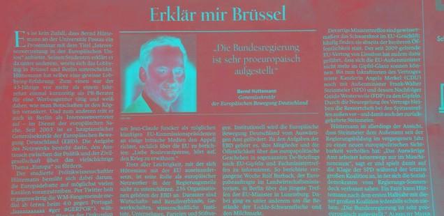 Erklär mir einer Brüssel in Berlin