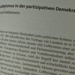Lobbyismus in der partizipativen EU-Demokratie