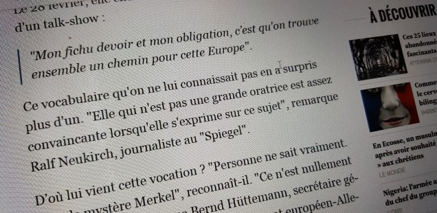 What's left from Schengen? My interview with l'Observateur