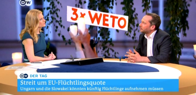 After EU Court of Justice ruling on refugees: my answers at DW TV