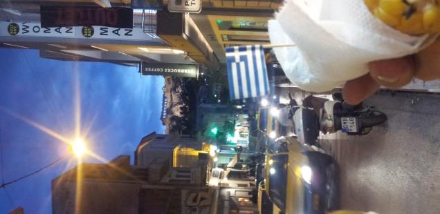 Athen zu Nikolaus 2013