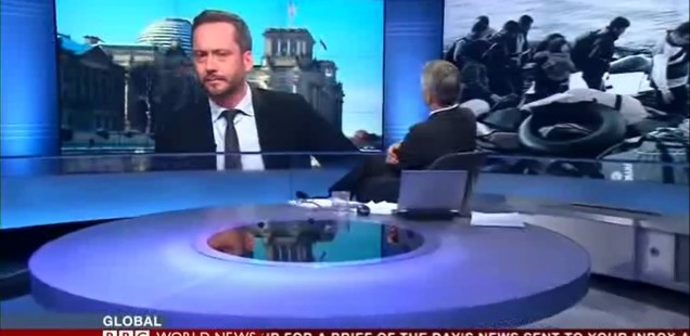 There is only a European solution – BBC-Interview on refugee crisis