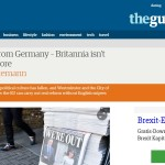 Nebenwirkung Brexit: All the British glamour is gone