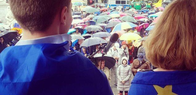 """Für mehr """"Lille Demokrati""""! bei Pulse of Europe"""