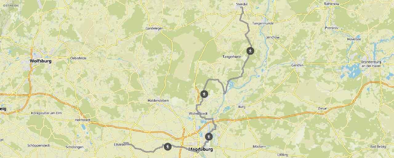 von Stendal nach Eilsleben